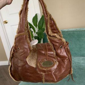 Brown handbag Melie Bianco